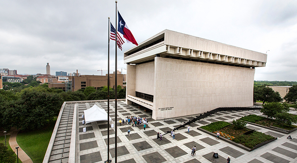 LBJ Library Plaza